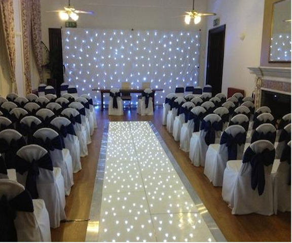LEd Walkway & Backdrop